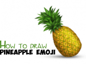 How to Draw Pineapple Emoji