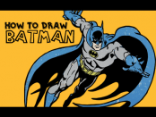 learn to draw retro batman from dc comics