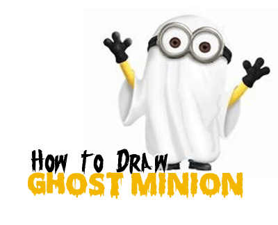 learn how to draw ghost minions