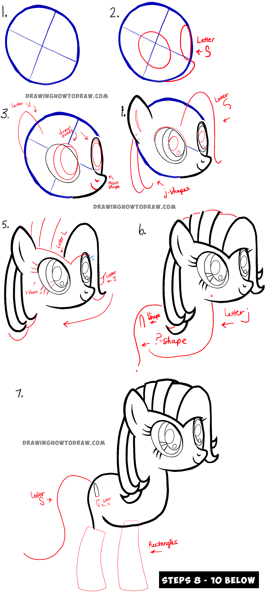 How to Draw Toola Roola Step by Step