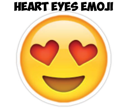 How to Draw Heart Eyes Emoji Face Step by Step Drawing ...