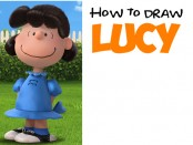 How to Draw Lucy from The Peanuts Movie Step by Step Tutorial