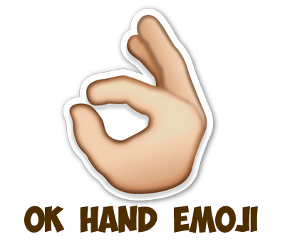 How To Draw Ok Hand Emoji With Easy Steps Drawing Lesson How To
