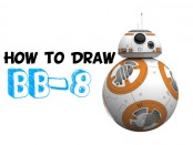 how to draw bb-8 from star wars, the force awakens