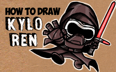 Chibi Kylo Ren Archives How To Draw Step By Step Drawing