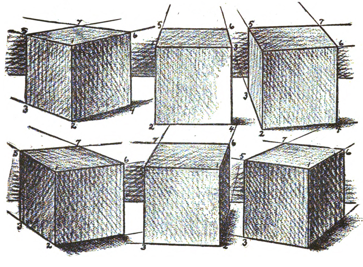 MORE EXAMPLES OF SHADING BOXES AND CUBES