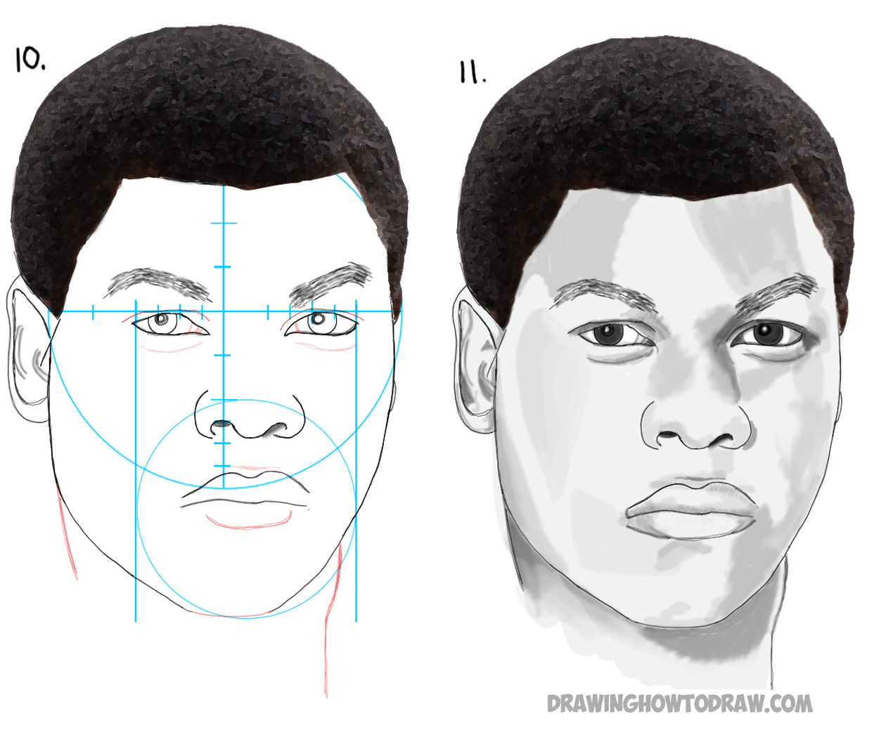 How to Draw Finn from Star Wars Force Awakens Step by Step Drawing Tutorial