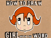 How to Draw Cartoon Girl from Word Girl Lesson for Children
