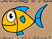 how to draw carton fish from word fish wordtoons for kids