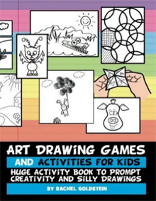 Drawing Games Activity Book