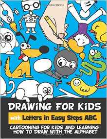 drawing for kids with letters in easy steps abc - Drawing Books For Kids