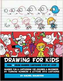 Drawing Book - Turn Numbers into Cartoons