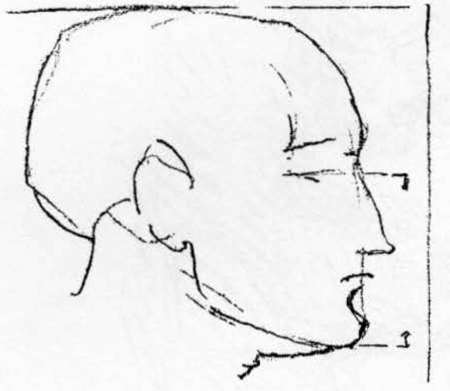 02-drawing-childs-head-proportions-There is also a marked difference in the formation of the head with varying ages.