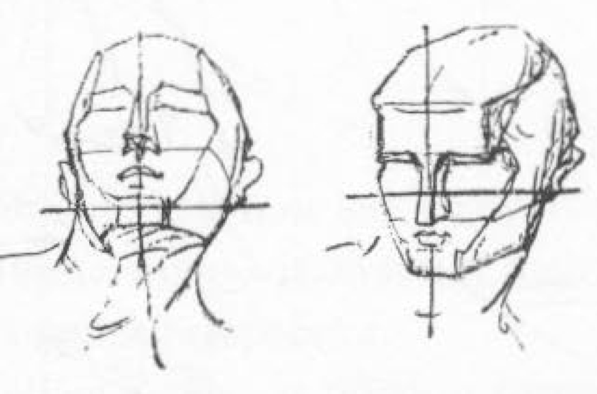 how to draw human face pdf download
