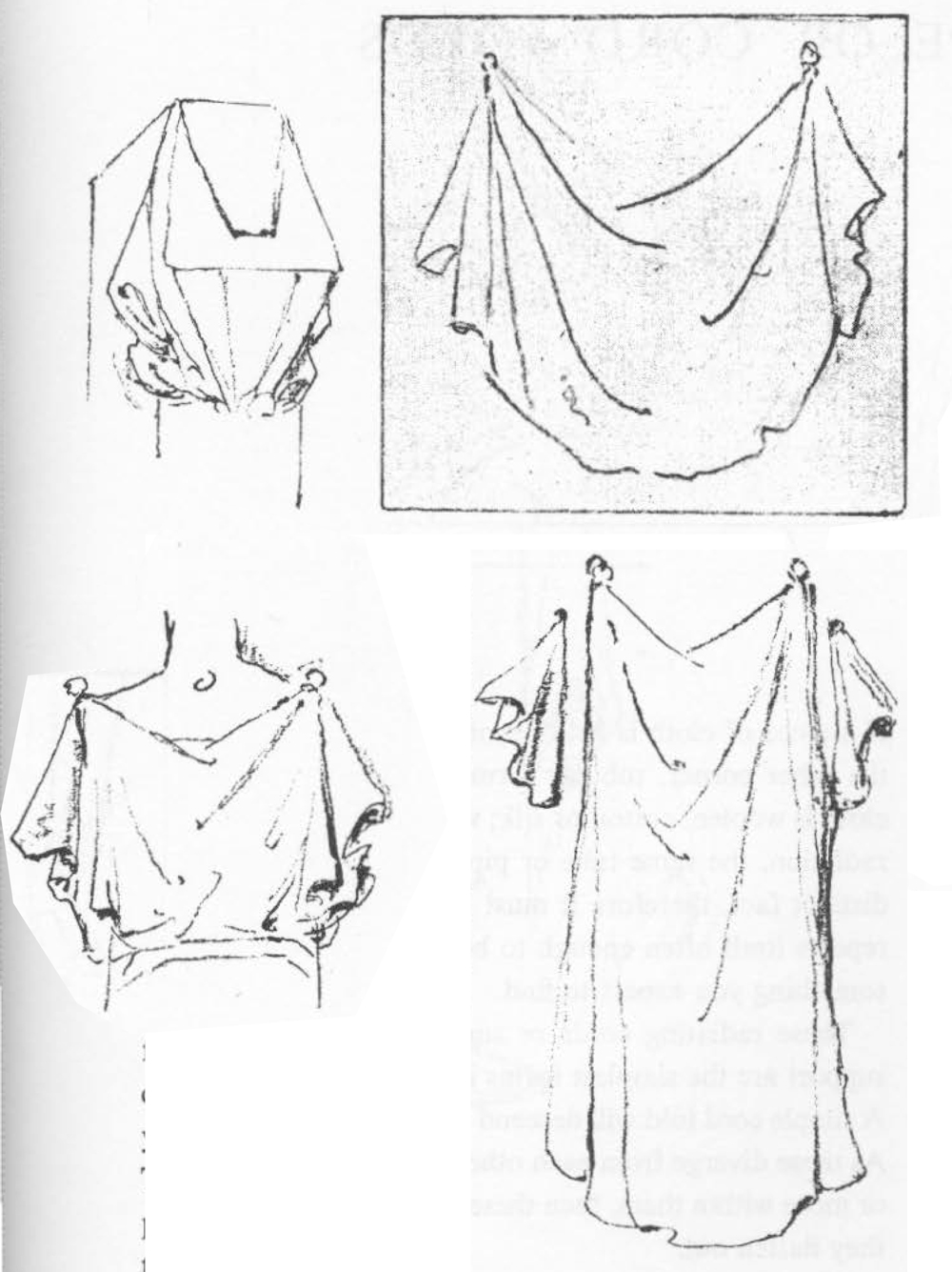 huge guide to drawing folds in clothing and drapery with