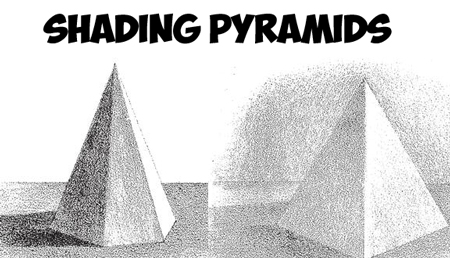 How to Shade Pyramids : Adding Shadows and Shaded Graduations to Pyramids