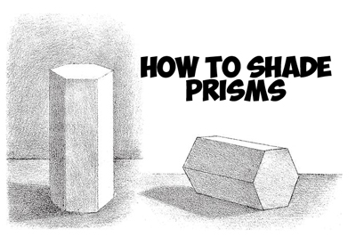 How to add shading to 3d prisms