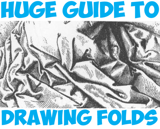 huge guide to drawing fabric folds