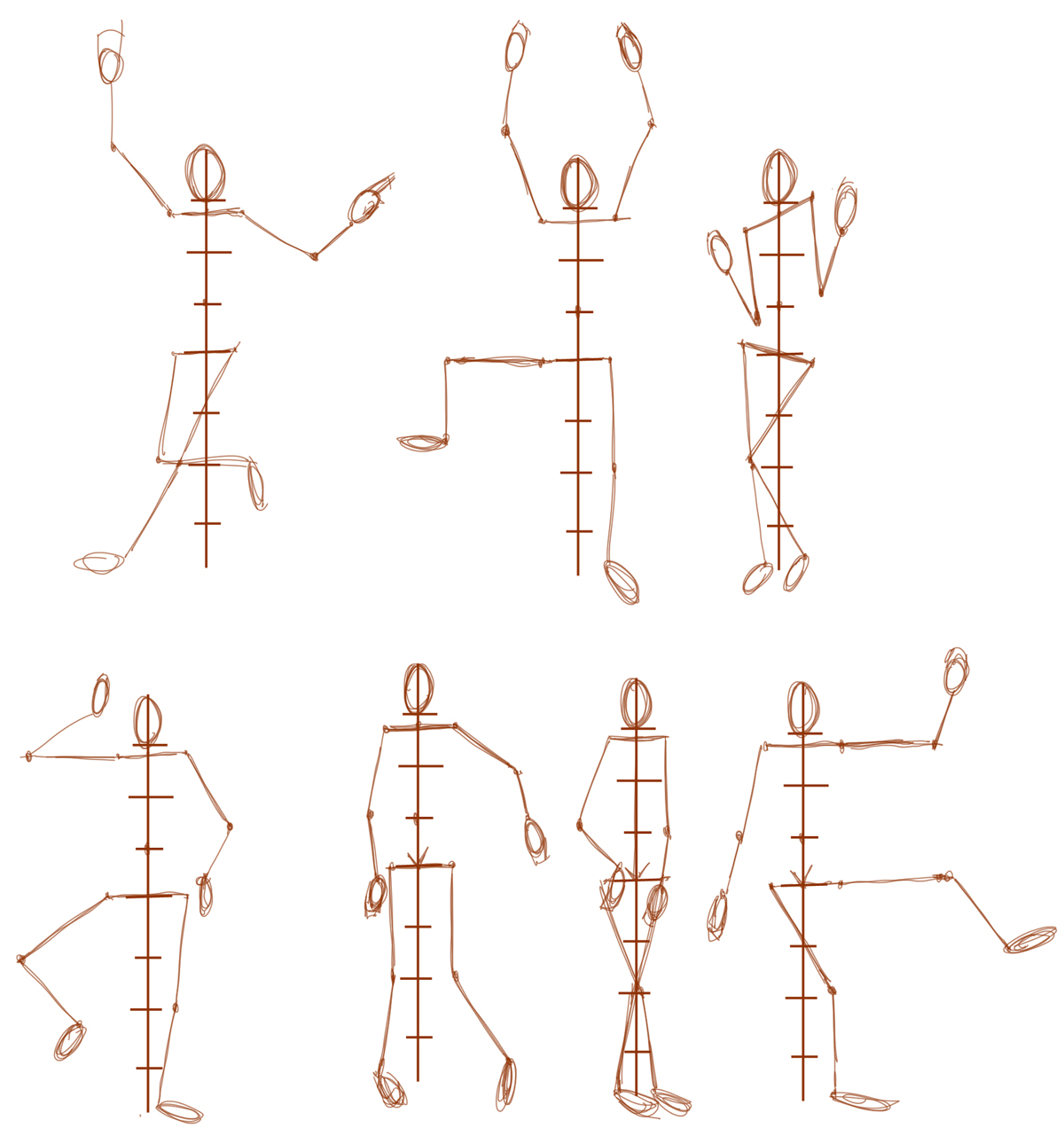 Learn How to Draw Human Figures in Correct Proportions by ...