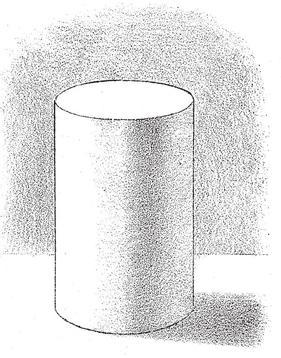 shading-cylinders- Add a slight gradation towards the highlight