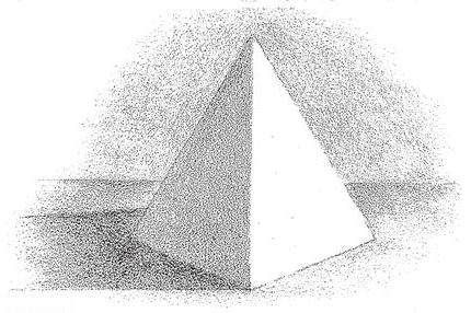 Shading and shadowing pyramids