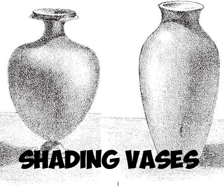 How to Shade Vases : Adding Shadows to Vases Drawing Tutorial
