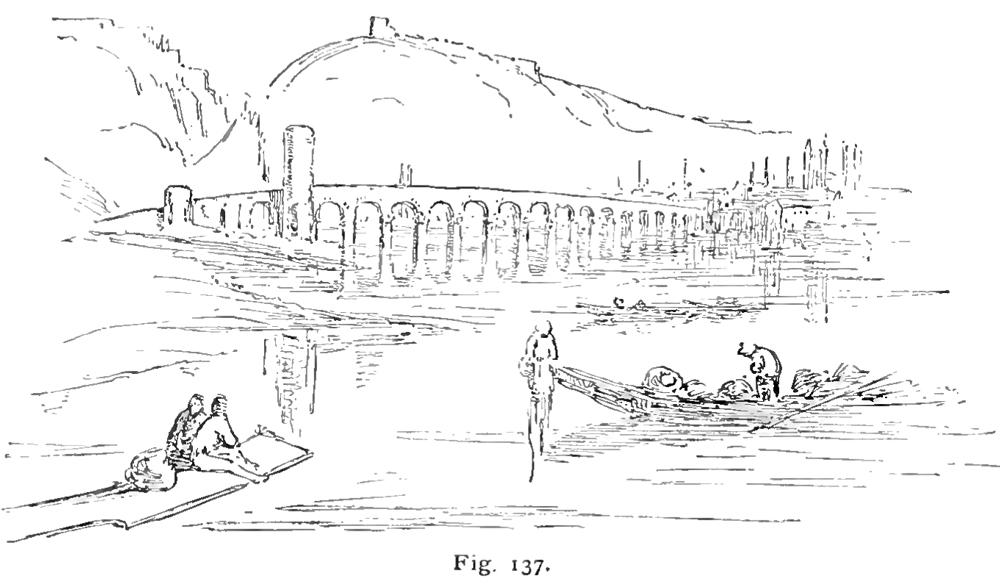 """Turner's picture of the """"Bridge at Coblentz,"""
