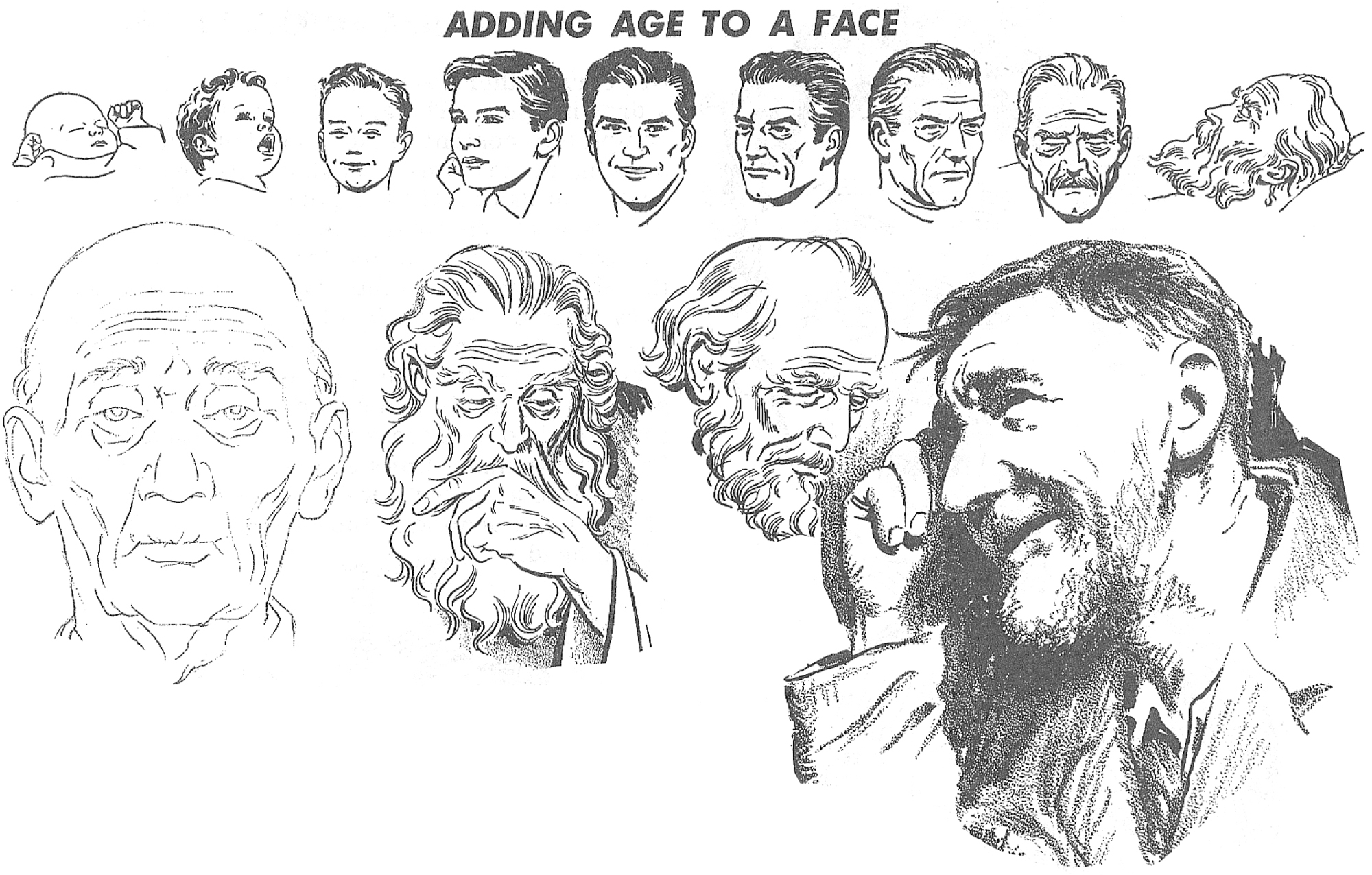 Adding Age to the Face