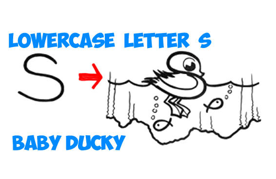 Learn how to draw a cartoon baby duckling in simple steps