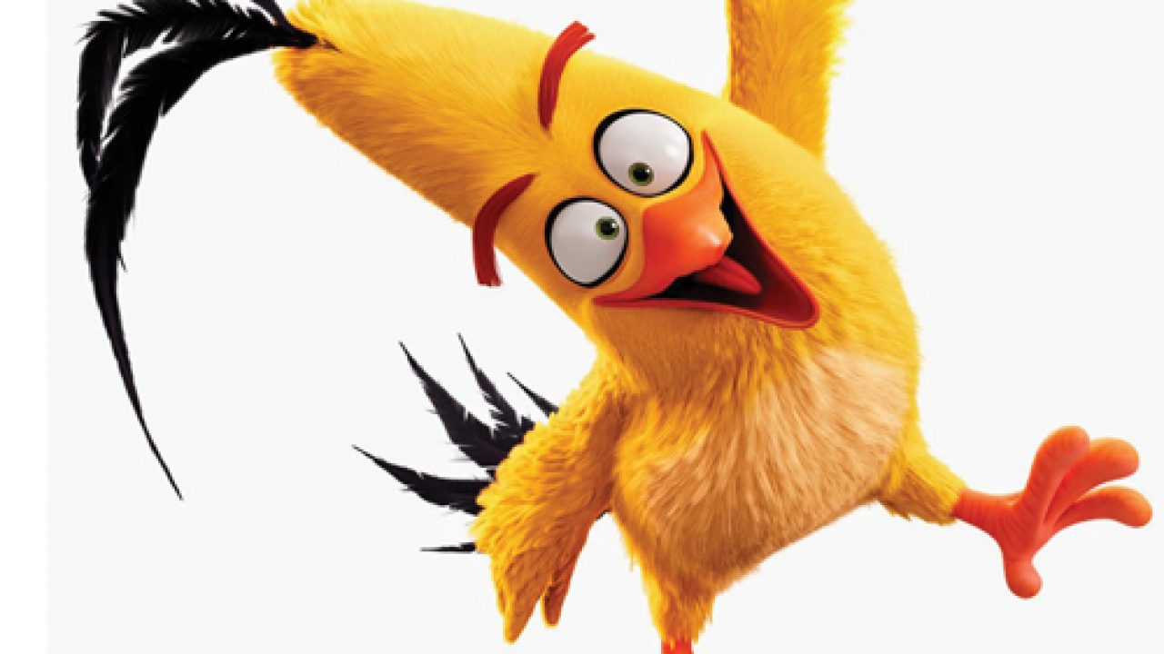 How To Draw Chuck The Yellow Bird From The Angry Birds Movie