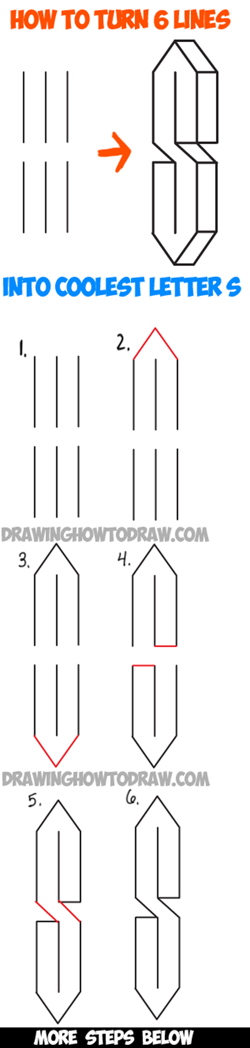 Simple Drawing Using Lines : Drawing lessons for kids archives how to draw step by