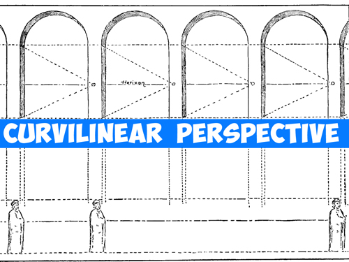 How to Draw in Curvilinear and Cylindrical Perspective Drawing Guide