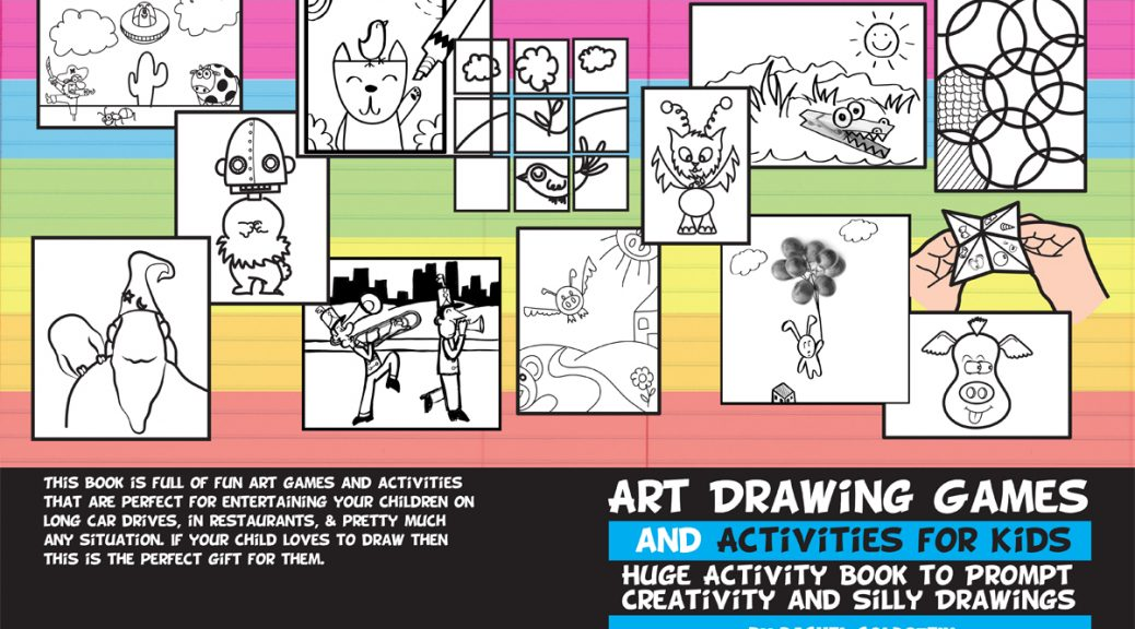 drawing games and activities activity book for kids