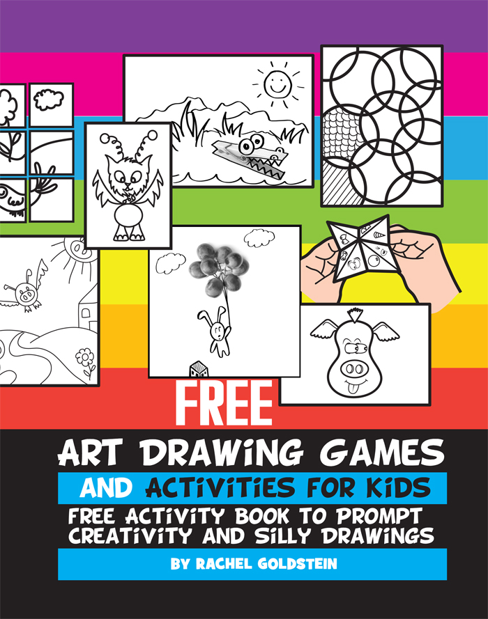 Free Drawing Games and Activities Activity Book for Kids