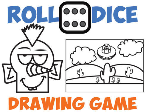 Drawing Games for Kids : Roll the Dice Drawing Game