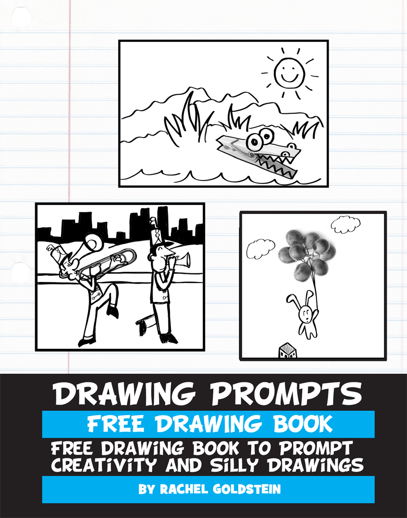 Download This Free Drawing Prompts Book to Boost Your Child's Creativity (Free Kids Drawing Prompts Book)