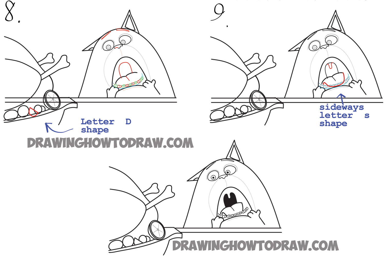how to draw chloe the cat from the secret life of pets easy
