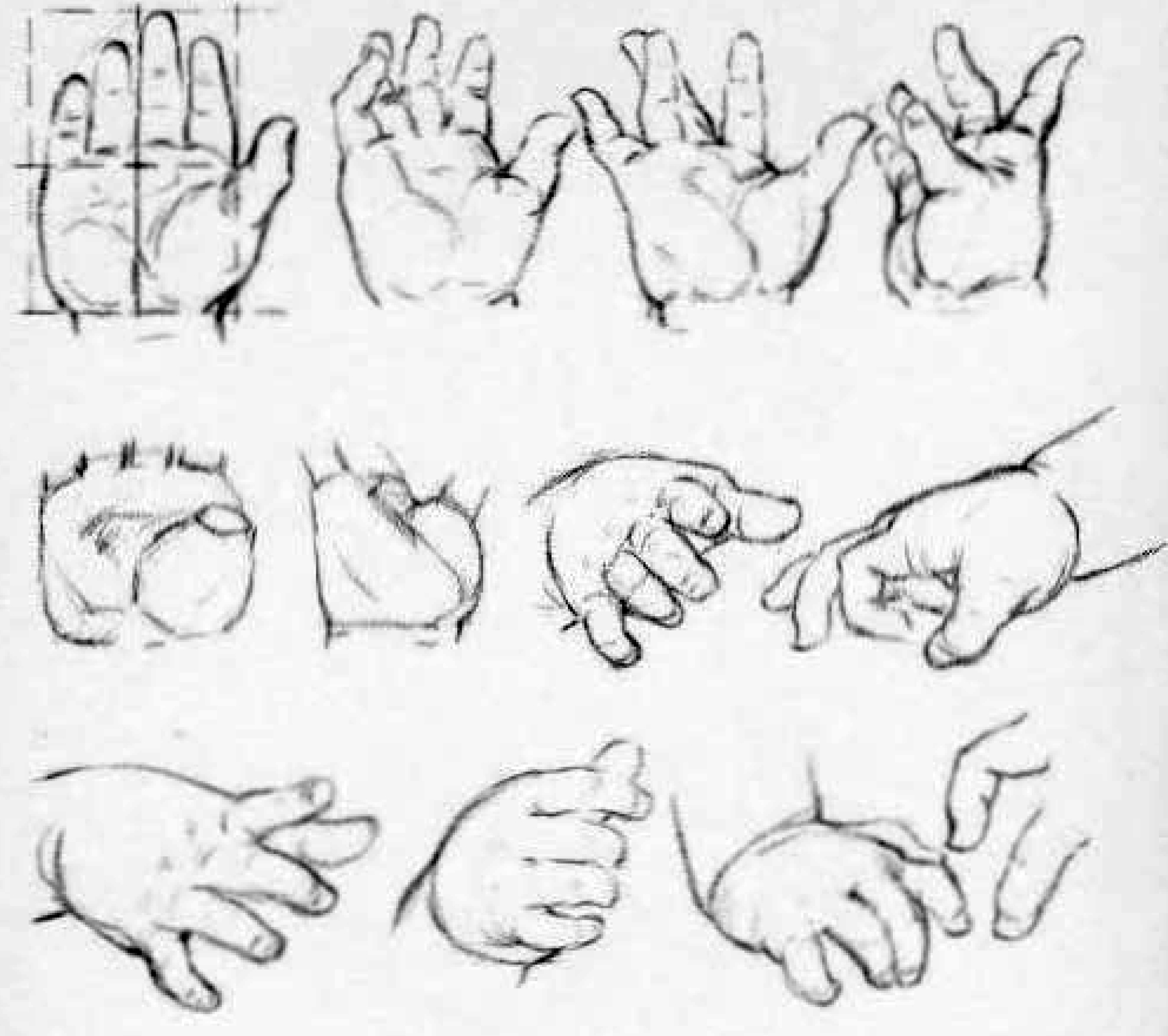 how to draw baby hands - drawing hands of babies