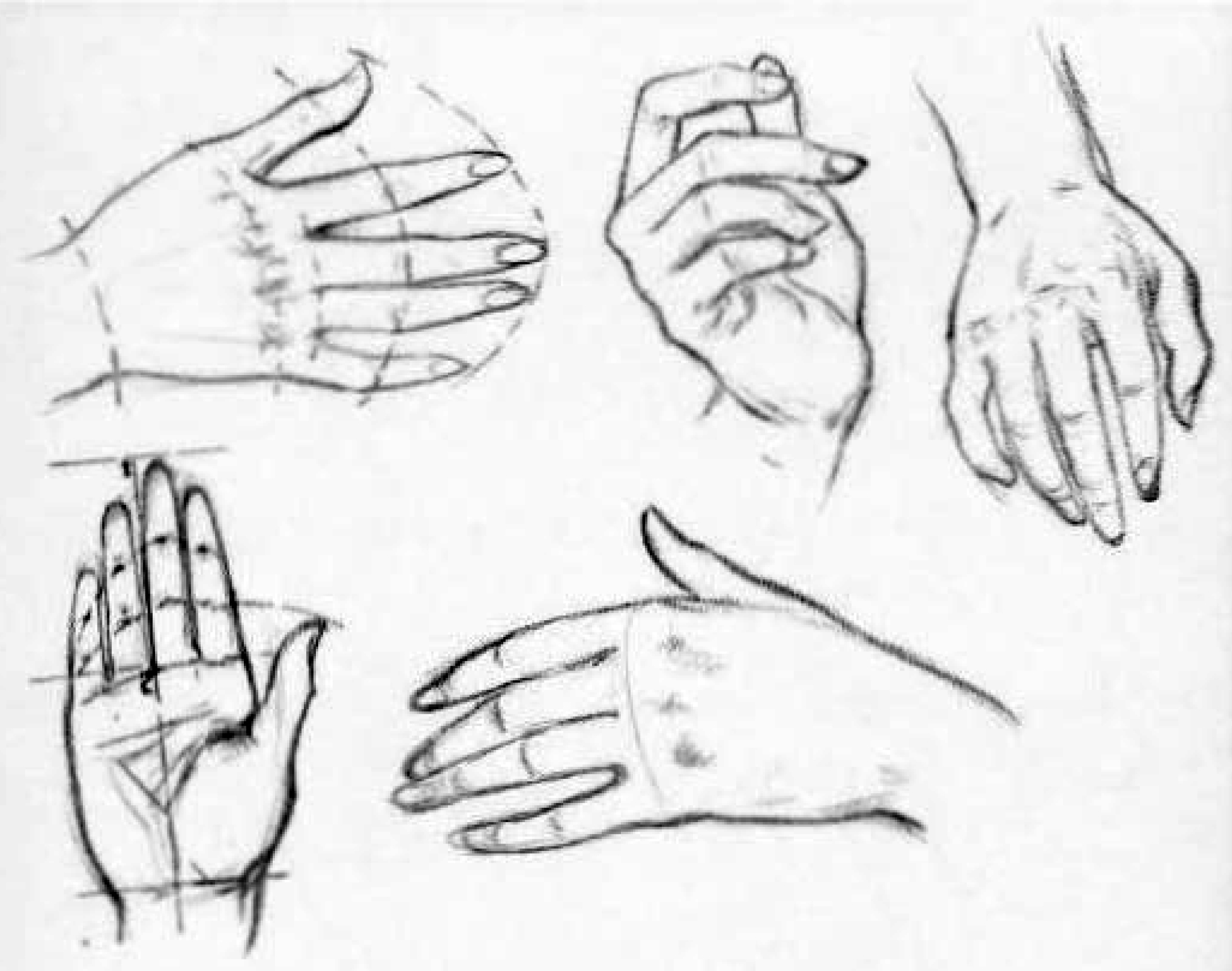 how to draw female hands - drawing womens hands