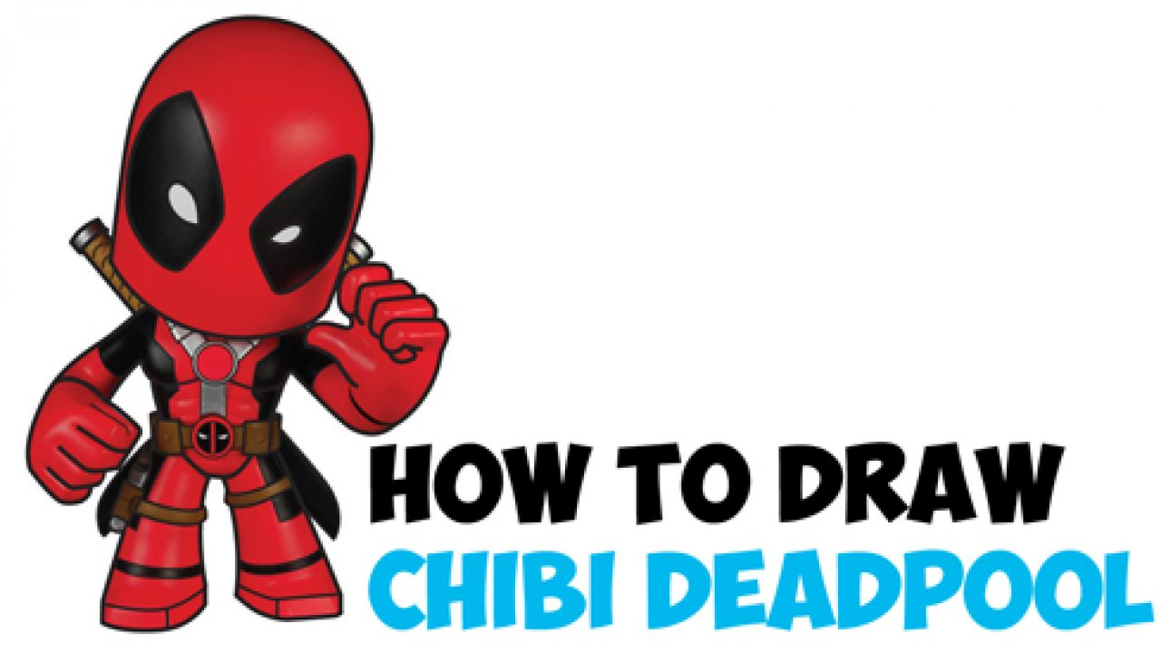 How To Draw Chibi Deadpool Easy Step By Step Drawing Tutorial How To Draw Step By Step Drawing Tutorials
