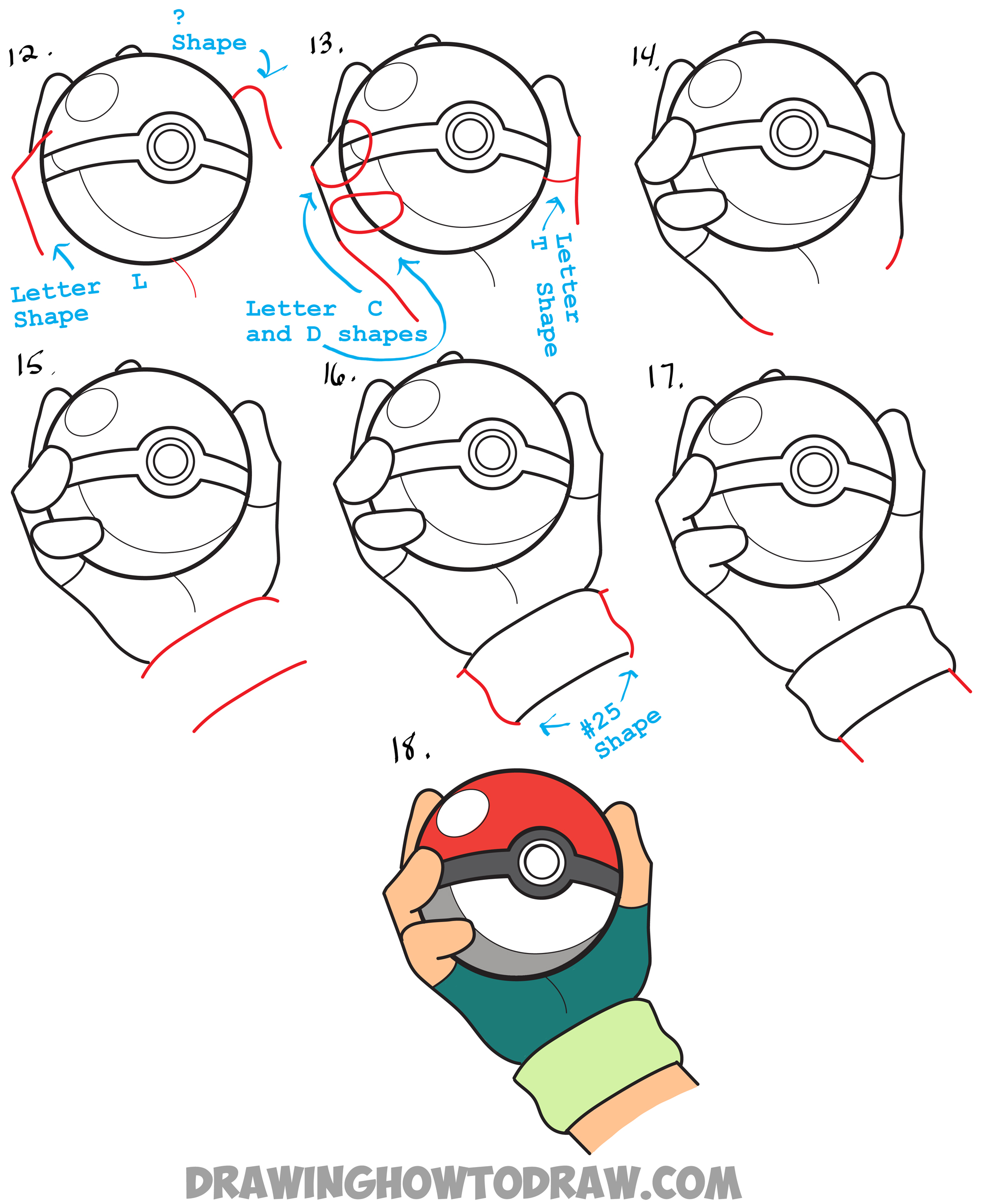 how to draw water pokemon