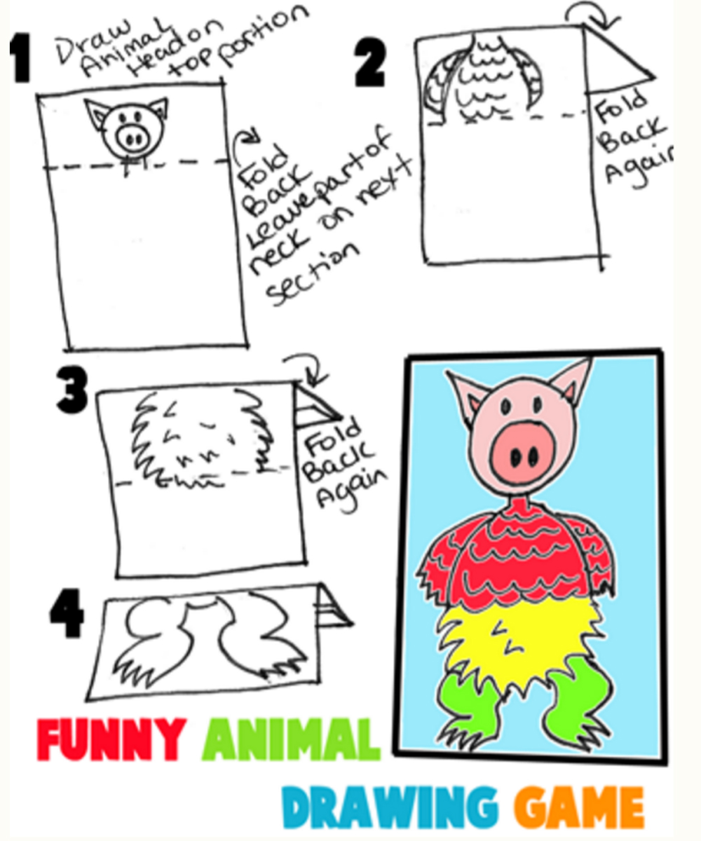 Create Silly Animals and Creatures with this Fun Family Drawing Game ...