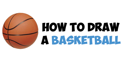 How to Draw a Basketball in Easy Step by Step Drawing Tutorial