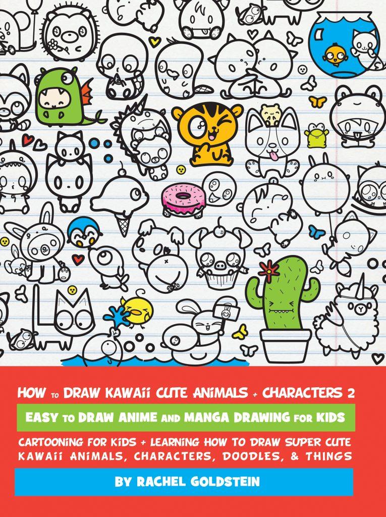 Drawing Kawaii Cute Animals Characters Amp Things 2 How