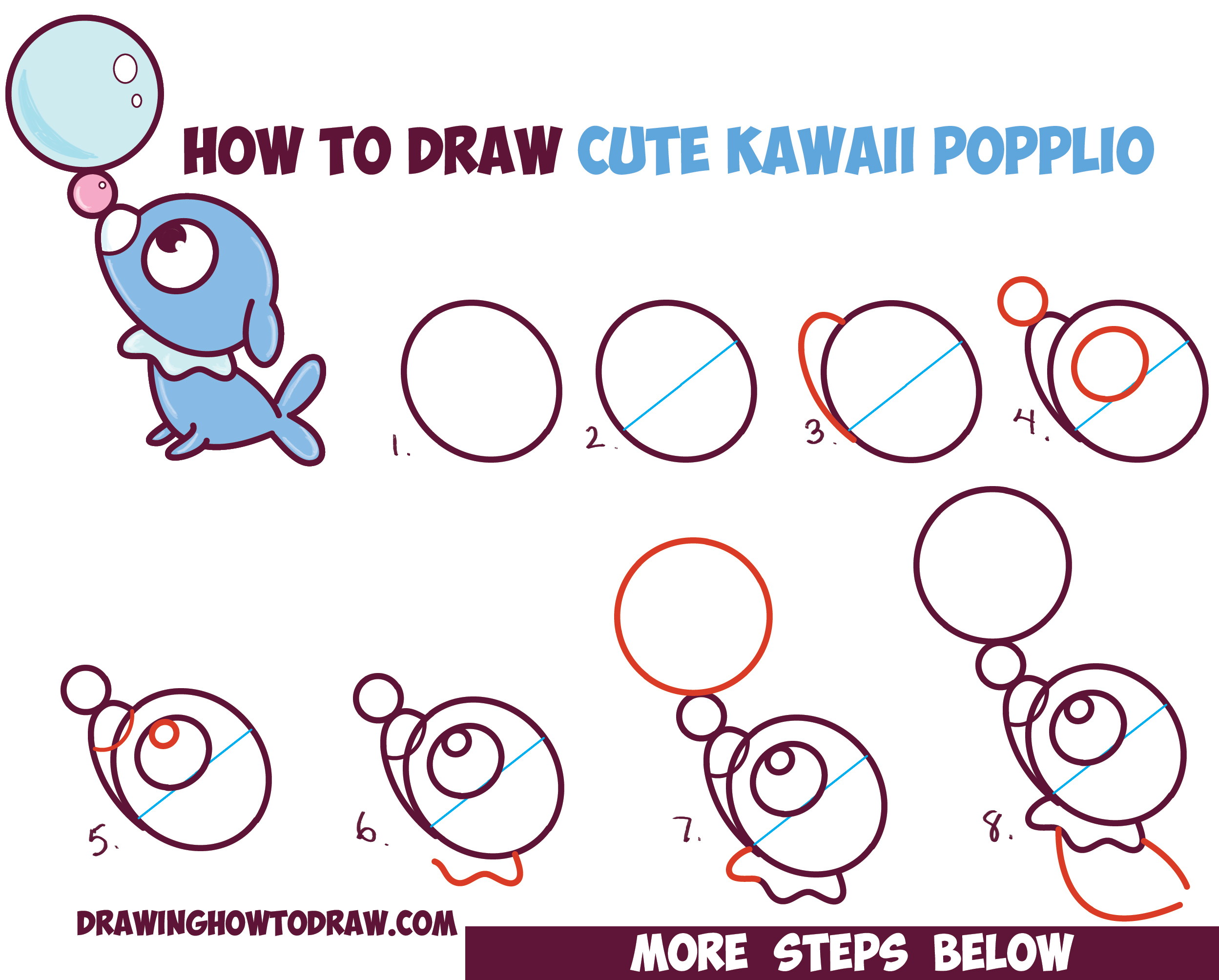 Kawaii pokemon mew drawings images pokemon images for How to draw things step by step
