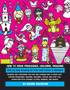 Drawing Princesses and Fairy Tale Characters book for kids