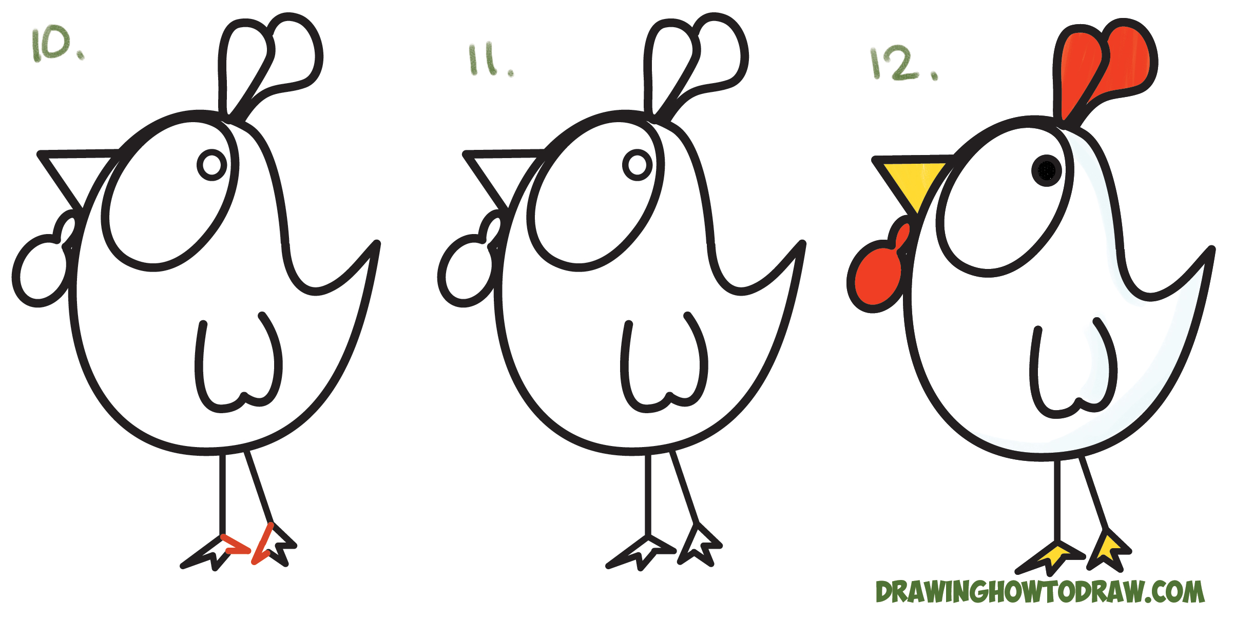 How to draw cartoons for beginners step by for How to make cartoon drawings step by step