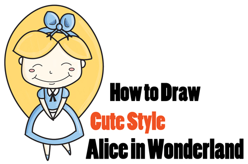 Alice In Wonderland Archives How To Draw Step By Step Drawing Tutorials