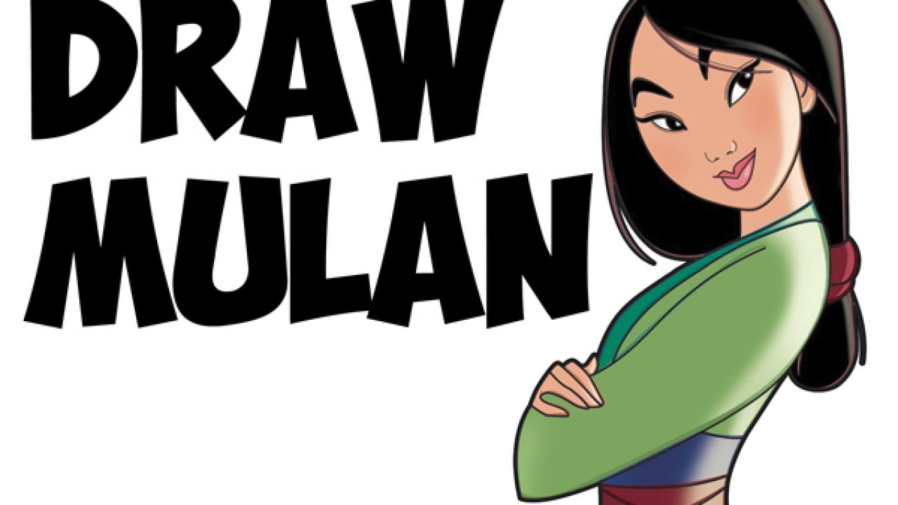 How To Draw Mulan As A Princess Easy Step By Step Drawing Tutorial For Kids And Beginners How To Draw Step By Step Drawing Tutorials