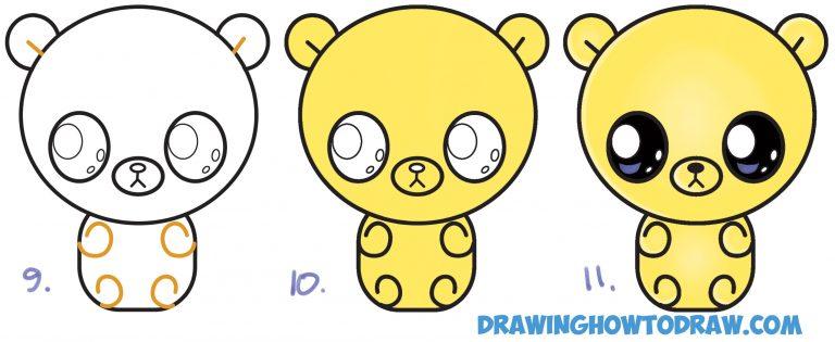 Cute chibi bear